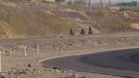 Patrulha fronteiriça ATV video estoque
