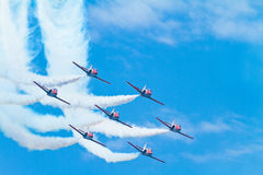 Patrulla Aguila Royalty Free Stock Photography