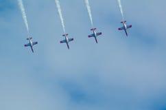 Patrulla Aguila acrobatic squad Stock Photos
