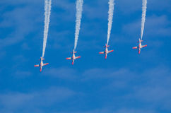Patrulla Aguila acrobatic squad Royalty Free Stock Photos
