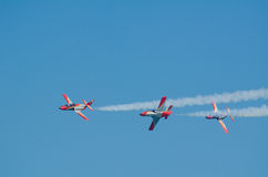 Patrulla Aguila acrobatic squad Royalty Free Stock Image