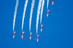 Patrulla Aguila acrobatic squad Royalty Free Stock Photography