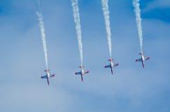 Patrulla Aguila acrobatic squad Stock Photo