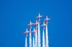 Patrulla Aguila akrobatyczna eskadra Zdjęcie Royalty Free