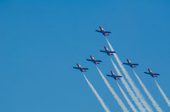 Patrulla Aguila akrobatyczna eskadra Fotografia Stock