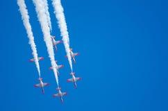 Patrulla Aguila akrobatyczna eskadra Obrazy Stock
