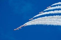 Patrulla Aguila akrobatyczny oddział Obraz Royalty Free