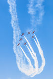 Patrulla Aguila Royalty Free Stock Images