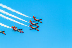 Patrulla Aguila Royalty Free Stock Photos