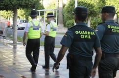 Patrulla 026 de la policía Foto de archivo libre de regalías