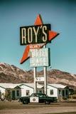 Patrulla de Route 66 Fotos de archivo