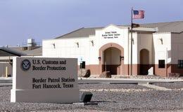 Patrulla fronteriza de Estados Unidos Imágenes de archivo libres de regalías