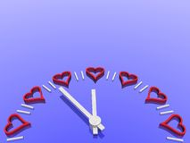 patrz valentines Zdjęcie Stock