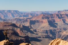 Patrzeć Nad Grand Canyon zdjęcie royalty free