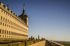 Patrzeć horyzont od Escorial zdjęcie royalty free