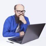 Patrzeć i myśleć - biznesmen (serie) Fotografia Stock