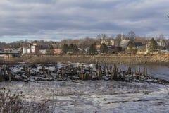 Patrzeć od Maine Kanada zdjęcia stock