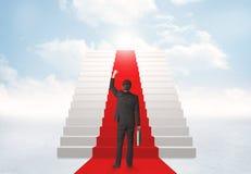 Patrzeć schodki niebo Zdjęcie Royalty Free