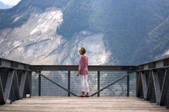 Patrzejący górę Toc, dokąd ty możesz wciąż widzieć głęboką ranę Październik 1963 Zdjęcia Royalty Free