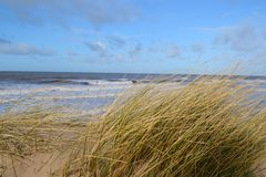 Patrzeje plaża. Fotografia Royalty Free