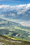 Patscherkofel peak near Innsbruck, Tyrol, Austria. Stock Photo