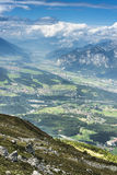 Patscherkofel peak near Innsbruck, Tyrol, Austria. Royalty Free Stock Images