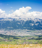 Patscherkofel peak near Innsbruck, Tyrol, Austria. Royalty Free Stock Photography