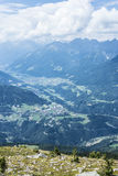 Patscherkofel peak near Innsbruck, Tyrol, Austria. Stock Photography