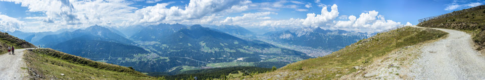 Patscherkofel peak near Innsbruck, Tyrol, Austria. Royalty Free Stock Photos