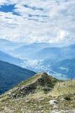 Patscherkofel peak near Innsbruck, Tyrol, Austria. Royalty Free Stock Image