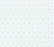 Patt sans couture de vecteur abstrait hexagonal de connexion Photos stock