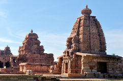 Pattad Kal tempel Royaltyfria Foton