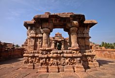 Pattadakal temple, a Unesco heritage site Royalty Free Stock Images