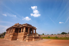Pattadakal temple, a Unesco heritage site Royalty Free Stock Photos