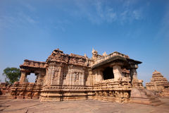 Pattadakal temple, a Unesco heritage site Stock Images