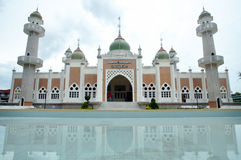 Pattani Central Mosque. In the downtown of Pattani, south Thailand royalty free stock photo