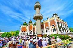 Pattani centrale moskee Royalty-vrije Stock Foto