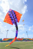 Pattani - MARCH 9- Many Fantasy kites in the International Kite Stock Images