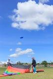 Pattani - 9 mars - beaucoup de cerfs-volants d'imagination dans le cerf-volant international Photographie stock libre de droits