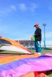 Pattani - 9 mars - beaucoup de cerfs-volants d'imagination dans le cerf-volant international Images stock