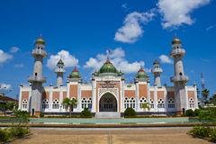 Pattani-zentrale Moschee, Thailand Lizenzfreie Stockfotos