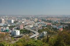 pattaya泰国视图 库存图片