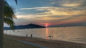 PATTAYA: Παραλία Saray κτυπήματος στοκ φωτογραφία με δικαίωμα ελεύθερης χρήσης
