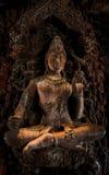 Pattaya: σμιλευμένο ξύλο στοκ φωτογραφία