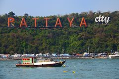 Pattaya Fotografie Stock Libere da Diritti