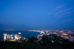 Pattaya bay Royalty Free Stock Images