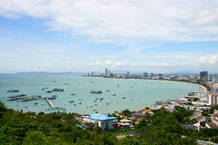 Pattaya Bay Stock Photo