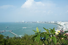 Pattaya bay. Royalty Free Stock Image