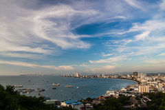 Pattaya. Bay Attraction of Thailand Stock Photography