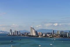 Pattaya beach and city Royalty Free Stock Image